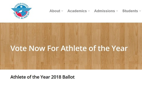 2018 Athlete of the Year  3