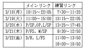 19 ワールド 公開練習 3