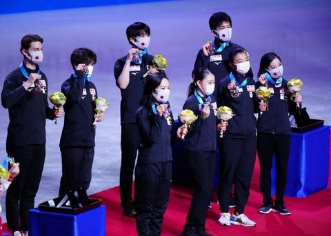 21 国別 表彰式
