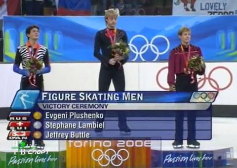 2006 Torino olimpic 表彰式