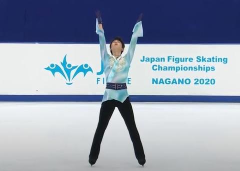 20 全日本 FS フィニッシュポーズ