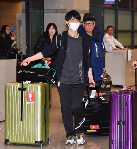 17 4CC 韓国入り 空港