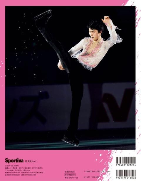 Sportiva  裏表紙