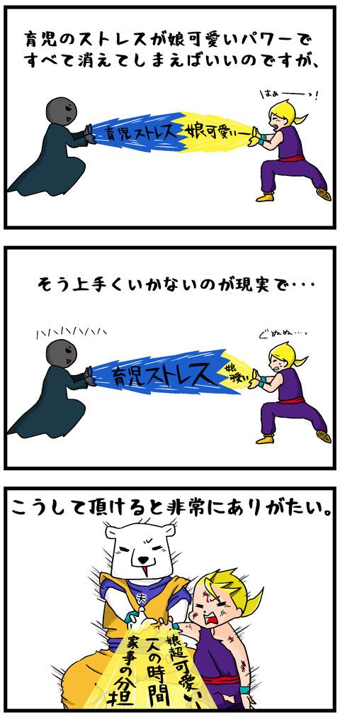 ドラゴンボール育児