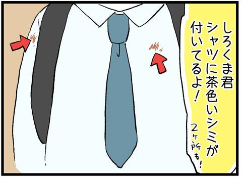 茶色いシミ2