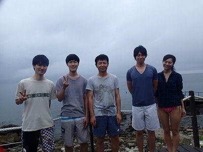 8月14日獅子浜全員陸