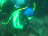 水中でナビゲーションを実践