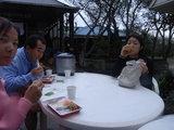 昼食中!!