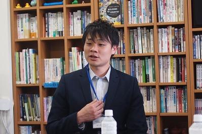 「椿野苑」の金田 副エリア長