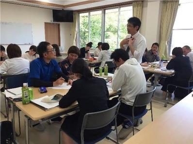 初任者研修-講義Ⅱグループディスカッション