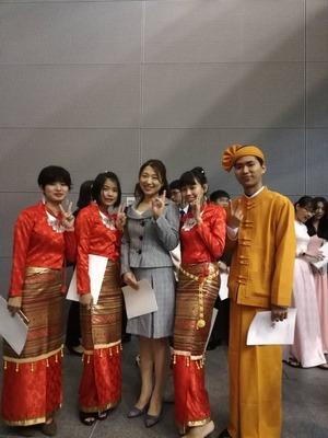 2019年_中部学院大学別科卒業式3
