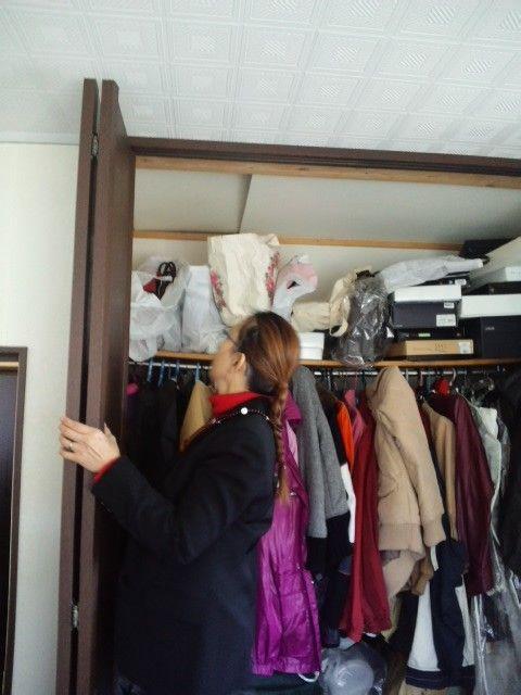 埼玉県 霊障害宅 屋根裏入り口付近