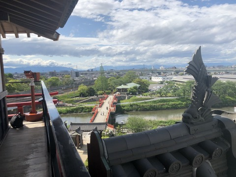 Welcome Beautiful Japan Kiyosu Castle 2019042612