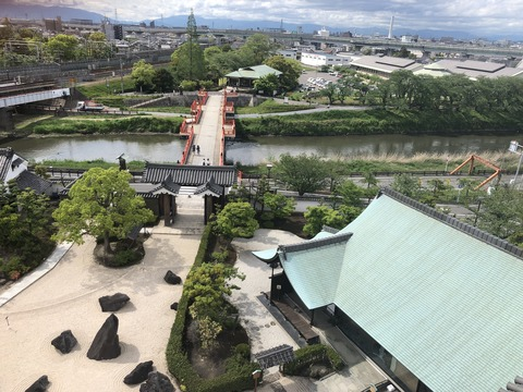 Welcome Beautiful Japan Kiyosu Castle 2019042610