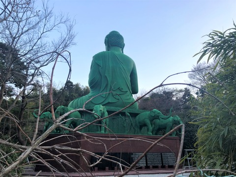 Welcome Beautiful Japan The Great Green Buddha 2019032313