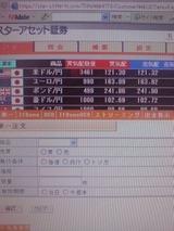 【FX】コンサバ第1口座スターアセット証券