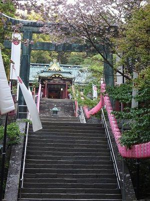社殿久能山