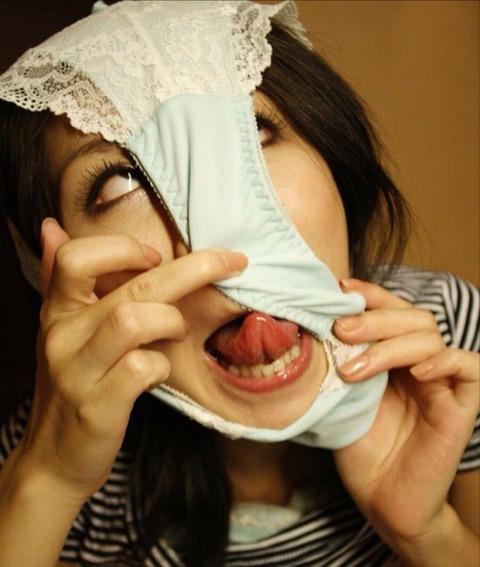 【女変態仮面☆】自分のパンツ被った女が狂ってやがるwww