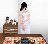 貞子さんの手作り味噌汁