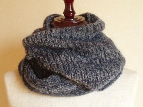 手編みスヌード
