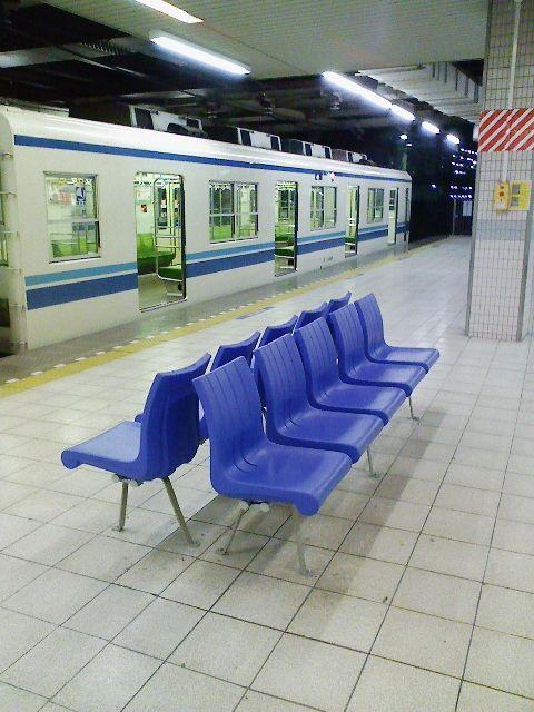 駅 ベンチ