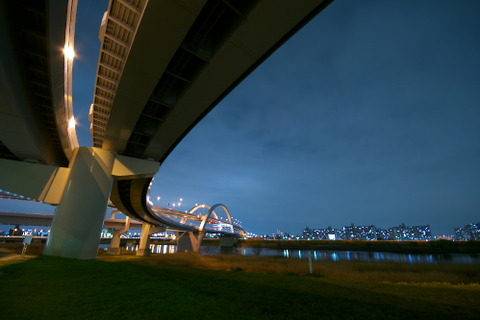 高速道路 夜2