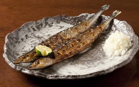 焼き魚 さんま