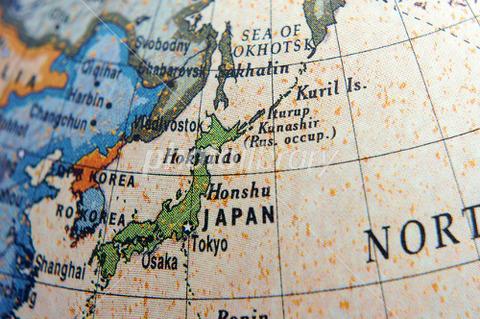 日本 地球儀
