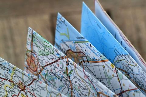 道に迷った 地図