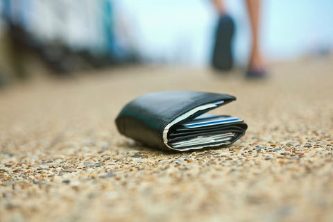財布 拾った