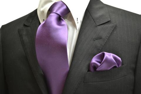 ネクタイ 紫