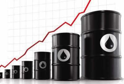 原油1リットルの値段を円で計算した。その結果