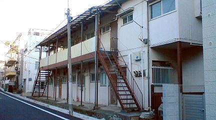 アパート 古い