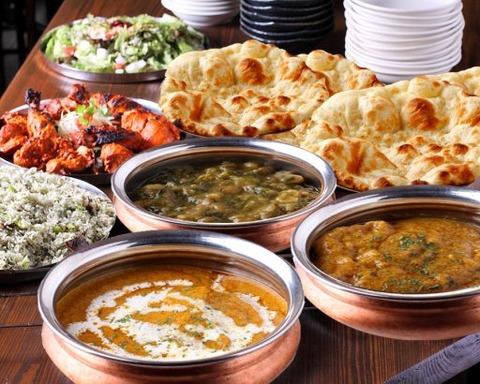 インドカレー料理