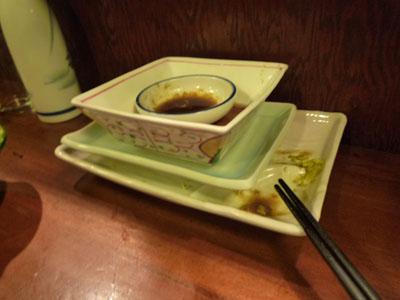食べ終えた皿