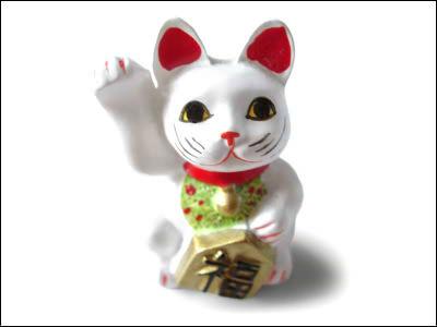 宝くじ 招き猫