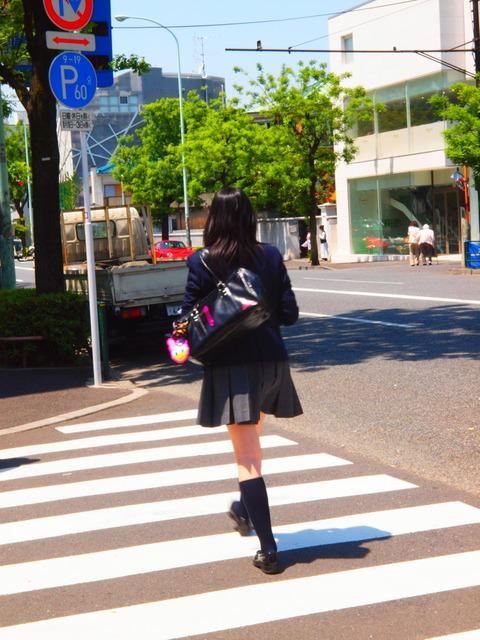 女子高生 街中