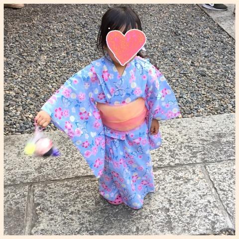 4歳 浴衣