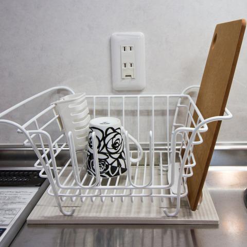 キッチン洗いカゴアイデア