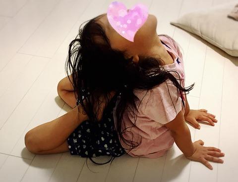4歳柔軟体操