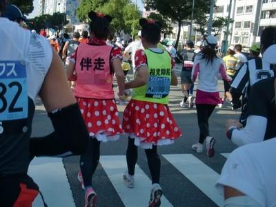 神戸マラソン_07_ミニー