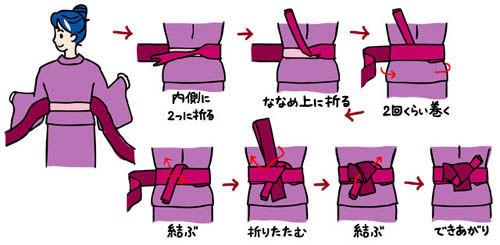 女性帯の結び方2