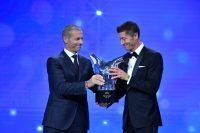 【ブンデスリーガ】レヴァンドフスキがUEFA年間最優秀選手に! GK部門ではノイアーが受賞