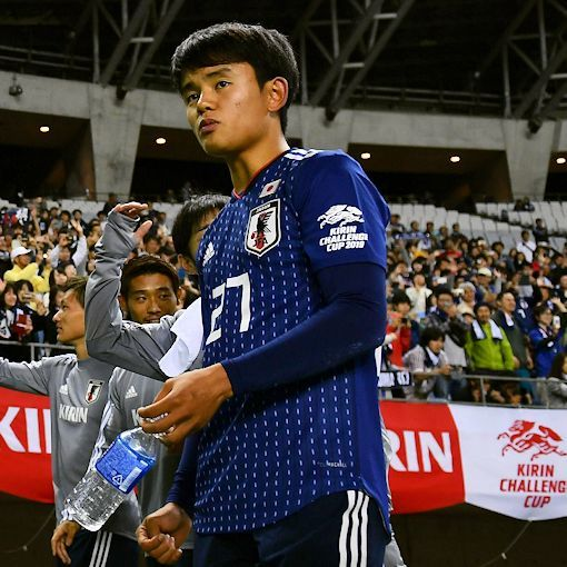 【サッカー日本代表】チリ戦で「久保建英」を先発抜擢か?「中島翔哉」と2シャドー濃厚!1トップは前田大然か