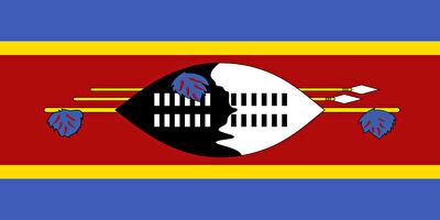 国旗:エスワティニ王国