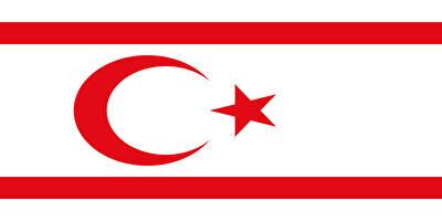 国旗:北キプロス・トルコ共和国