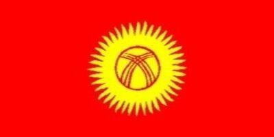 国旗:キルギス