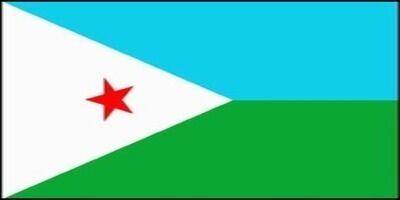 国旗:ジブチ