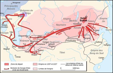 チンギス・カン在世中の諸遠征