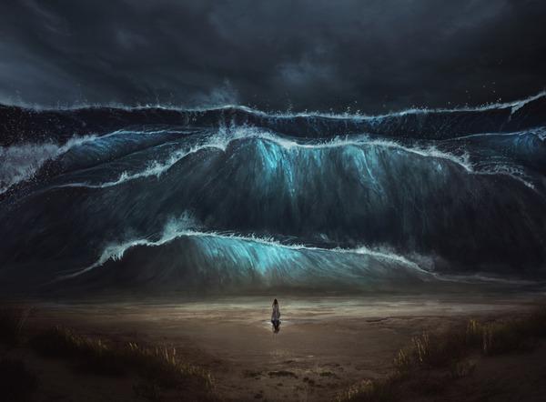 海にまつわる怖い話・不思議な話『水没者回収業者の話』『夜さで』『国語教師だけが
